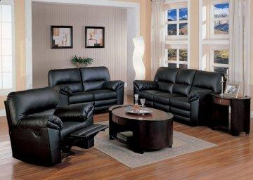 3 PC Camden Leather Recliner Sofa Set