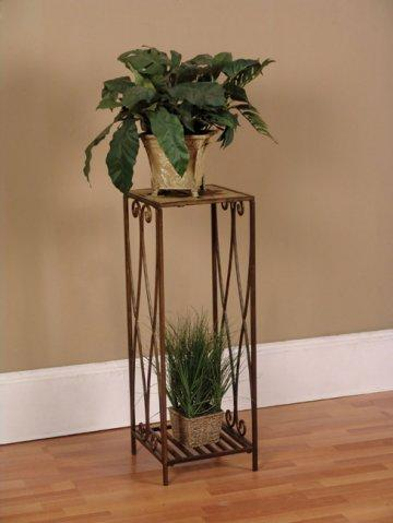Garden District Cinnamon Large Accent Table