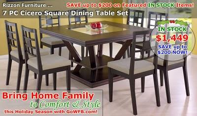 Sale Offer For the Holidays on In Stock Furniture!