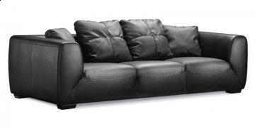 Cutter Leather Sofa