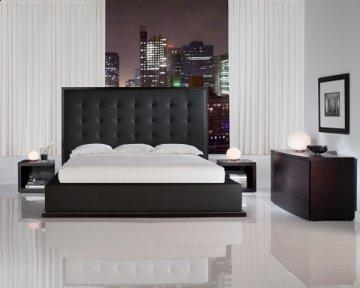 Ludlow II Black Platform Bed
