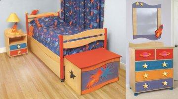 Star Rocket Twin Bedroom Set