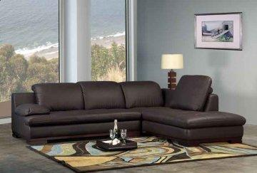 Madison Leather Sectional Sofa