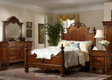 Victorian Manor Panel Bedroom Set