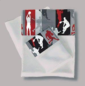 3 PC Action Sports Twin Sheet Set