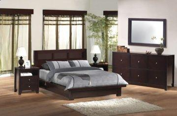 Knotch Platform Bedroom Set