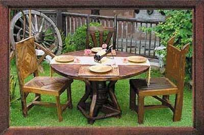 Trends in garden furniture