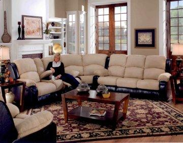 Angelina Recliner Sectional Sofa