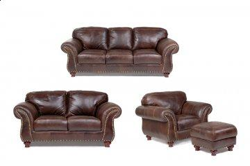 Capri Leather Sofa Set