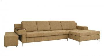 Infinity Leather Sectional Sofa