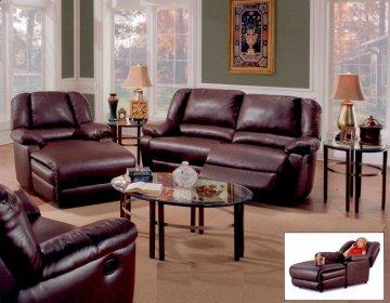 Jesse Leather Recliner Sofa Set