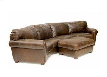 Milan Leather Sectional Sofa