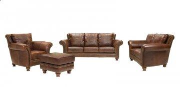 Tuscany Leather Sofa Set