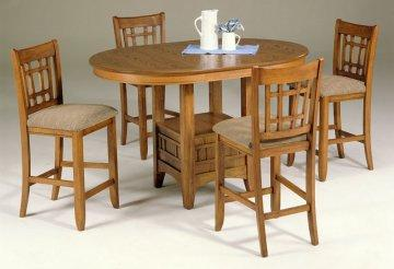 Santa Rosa Mission Oak Pub Dining Room Set by Liberty Furniture