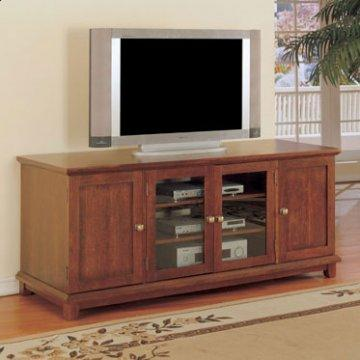 Antique Cherry Wide Media Console