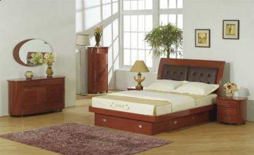 Angela Storage Platform Bedroom Set
