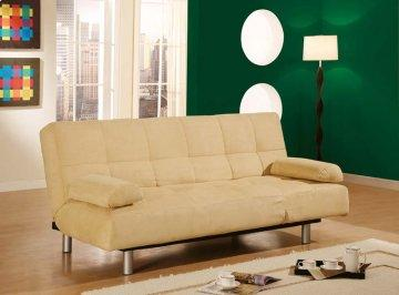 Atlanta Tan Convertible Sofa