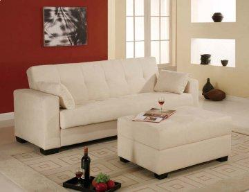 Boston Bone Convertible Sofa
