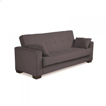 Boston Charcoal Convertible Sofa