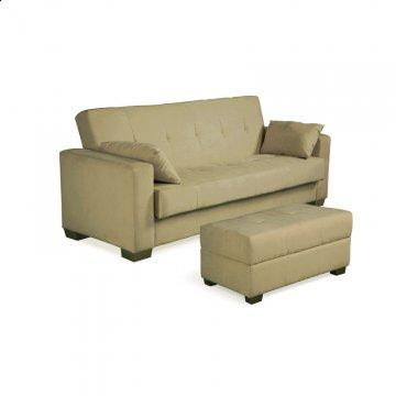 Boston Sage Convertible Sofa