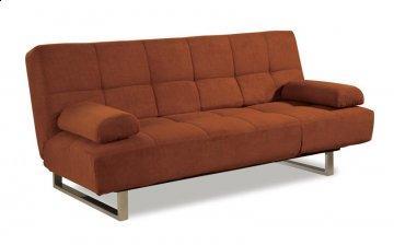 Denver Chocolate Convertible Sofa
