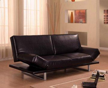 New York Brown Convertible Sofa