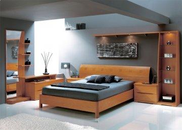 Benicarlo Platform Bedroom Set