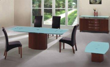 Jai Pedestal Dining Table Set