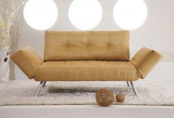 Phoenix Tan Convertible Sofa